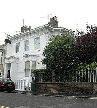 Grade II listed buildings in Brighton and Hove: A–B - Image: 17 and 19 Abbey Road, Brighton (Io E Code 480785)