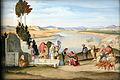 1819 Ramboux Rebekka und Elieser am Brunnen anagoria.JPG