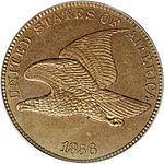 Flying Eagle Cent, Vorderseite
