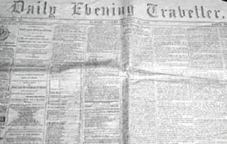 Boston Evening Traveller - Daily Evening Traveller, 1866