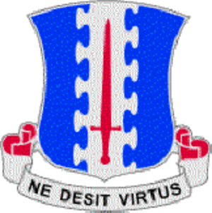 3rd Battalion, 187th Infantry Regiment - Image: 187INF DUI