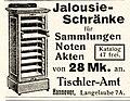 1914 Annonce Tischer-Amt Hannover Jalousie-Schrank.jpg