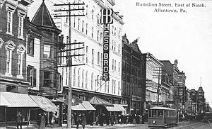 Hess's - Hess Brothers store about 1915