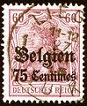 1915 Belgien 75Centimes Liège Mi6a.jpg