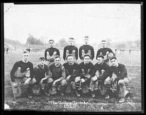 1920 Georgia Tech Golden Tornado football team - The starters