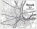1920 map Newark, New Jersey Automobile Blue Book.jpg