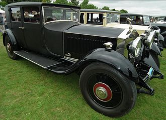 H. J. Mulliner & Co. - 4-door 4-light lightweight Weymann construction sports saloon 1929 on a Rolls-Royce Phantom II chassis