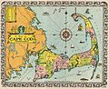 1932 Walter M. Gaffney Map of Cape Cod, Massachusetts - Geographicus - CapeCod-gaffney-1932.jpg