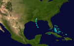 1936 Atlantic tropical storm 4 track.png