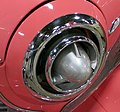 1951 Studebaker Champion Starlight Coupe- hood detail - 15354940864 (cropped).jpg