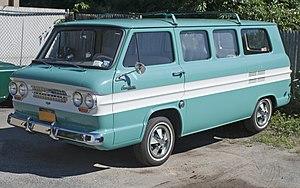 Chevrolet Greenbrier - Image: 1964 Chevrolet Greenbrier front