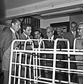 1966 visite de Mr Edgar Faure sénateur du Jura au CNRZ-16-cliche Jean Joseph Weber.jpg