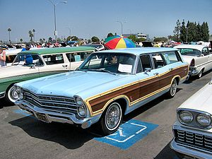 1967 Ford Country Squire—a full size station wagon