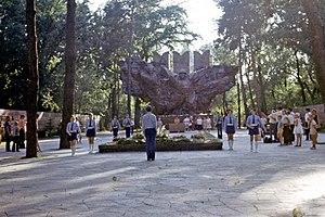 Park of 28 Panfilov Guardsmen - Panfilov Park in 1969