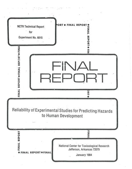 File:1984 Kimmel Holson NCTR TR 6015.pdf