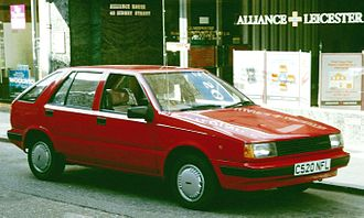 Hyundai Excel - 1985–87 Hyundai Pony 5-door (Europe)