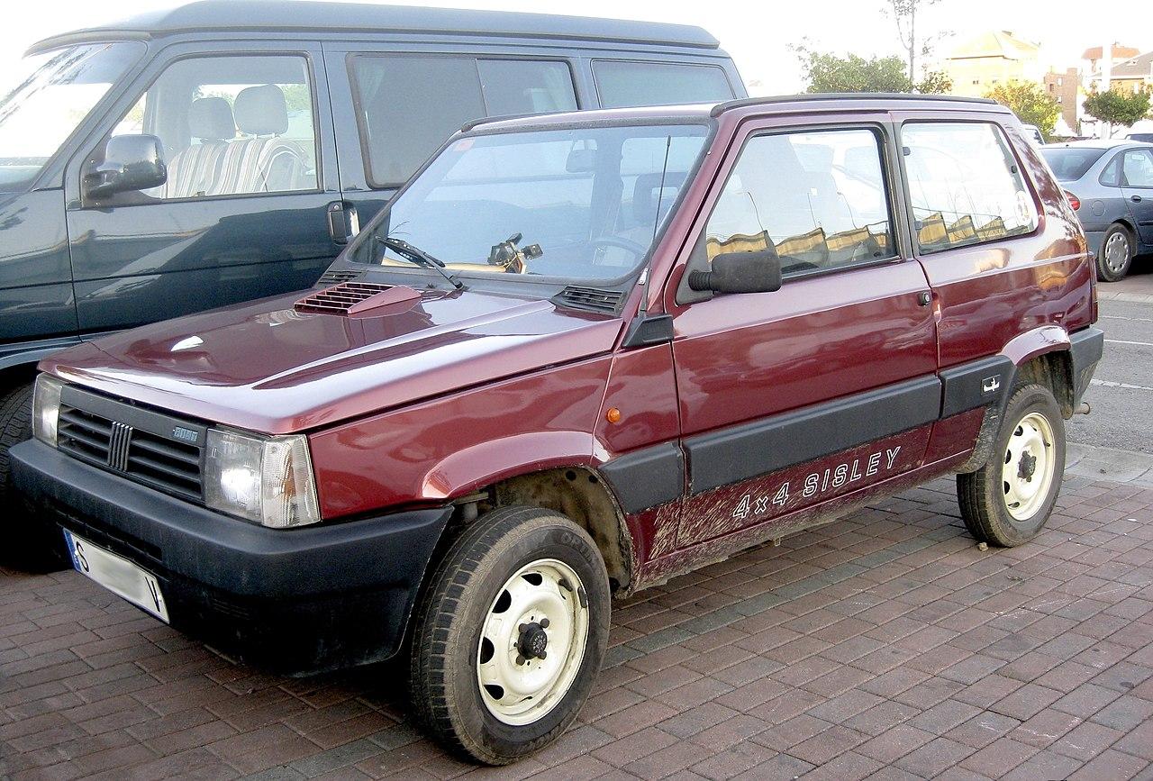 File 1989 Fiat Panda 4x4 Sisley 3863394372 Jpg