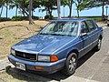 1991 Dodge Spirit 2.5L (27932216045).jpg