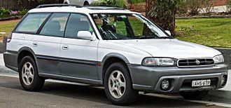 Subaru Outback - Image: 1998 Subaru Outback (BG9 MY98) Special Edition station wagon (2010 09 23) 01