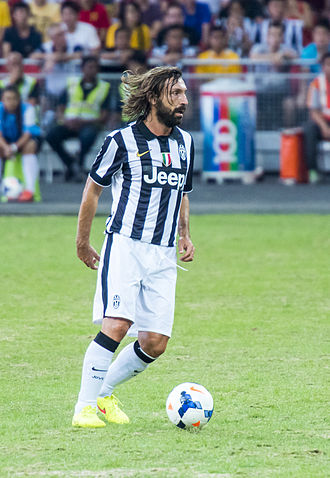 Andrea Pirlo - Pirlo playing for Juventus in 2014