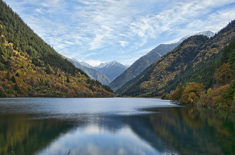 1 jiuzhaigou valley rhino lake 2011.jpg