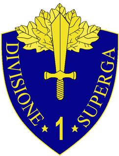 1st Infantry Division Superga