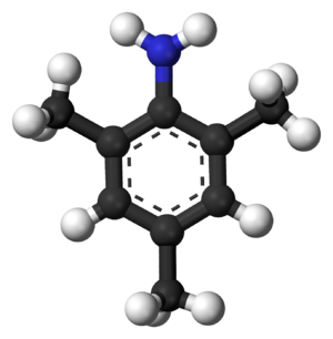 2,4,6-Trimethylaniline - Image: 2,4,6 Trimethylaniline 3D balls
