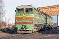 2ТЭ10В-4034, Russia, Tver region, Sonkovo station (Trainpix 170252).jpg