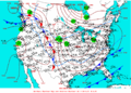 2003-03-10 Surface Weather Map NOAA.png