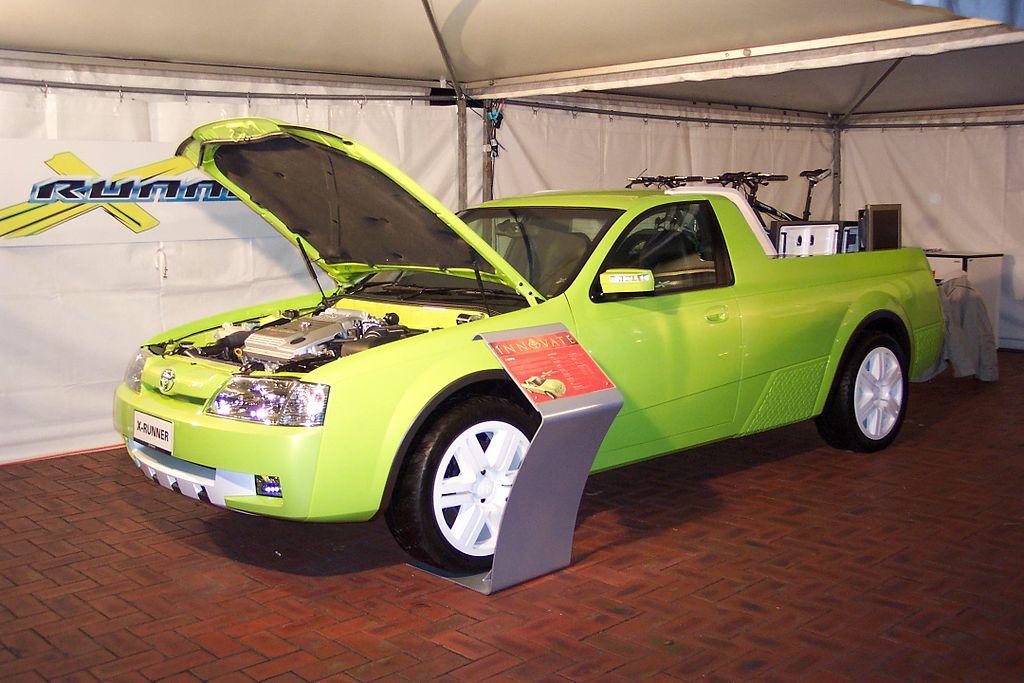 File:2003 Toyota X-Runner utility - Concept car (5057543971).jpg ...