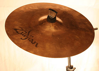 Cymbal common percussion instrument