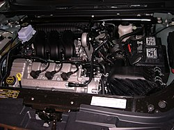 rff engine in a 2006 mercury montego