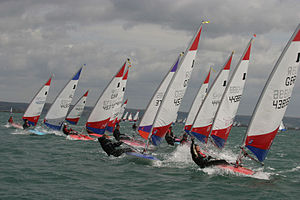 Topper (dinghy) - Toppers at the 2006 National Championships, WPNSA