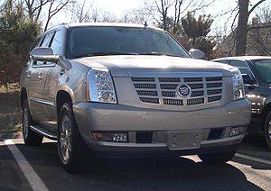 GM GMT platform - 2007 GMT900 Cadillac Escalade