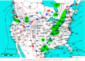 2009-04-28 Surface Weather Map NOAA.png