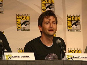 The Day of the Doctor - Image: 2009 07 31 David Tennant smile 10