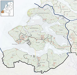 Arnemuiden is located in Zeeland