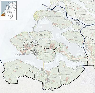 ModuleLocation mapdataNetherlands Zeeland Wikipedia