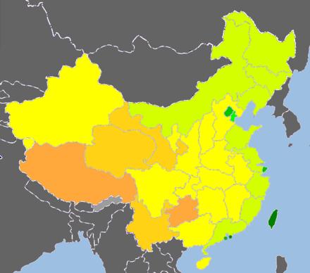中国省级行政区人类发展指数列表图片