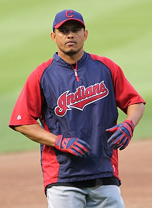 Orlando Cabrera - Cabrera with the Cleveland Indians in 2011