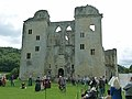 2012-08-26 2 Old Wardour Castle - main entrance.JPG