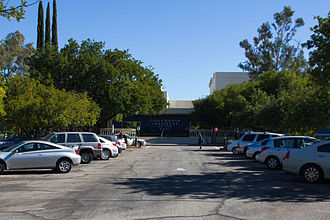 California Institute of the Arts - Main academic building.