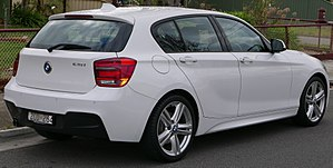 BMW 1 Series (F20) - F20 five-door hatchback