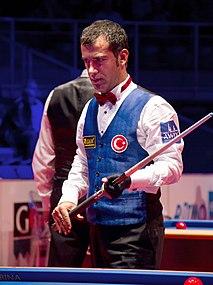 Tayfun Taşdemir Turkish professional carom billiards player
