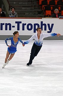 Andrea Davidovich Israeli figure skater