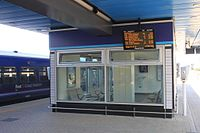 2013 on Reading station - platform 15 waiting room.jpg