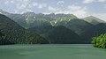 2014 Reliktowy Park Narodowy Rica, Widok na jezioro Rica od strony południowo-zachodniej (05).jpg