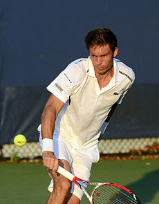 2014 US Open (Tennis) - Tournament - Nicolas Mahut (14948088449).jpg