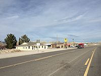 2015-01-16 09 28 25 View north along U.S. Route 93 in Alamo, Nevada.JPG