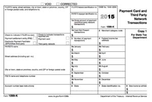 Form 1099-K - Form 1099-K, 2015